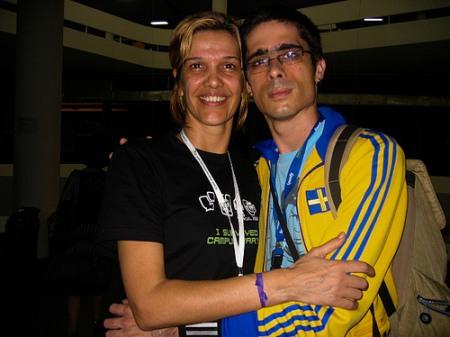 Lucia Freitas e Fernando Mafra - Campus Party Brasil 2008